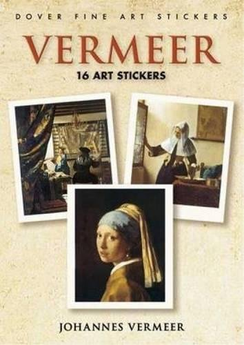 9780486451275: Vermeer: 16 Art Stickers