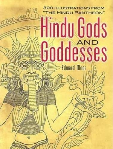 9780486451312: Hindu Gods and Goddesses: 300 Illustrations from