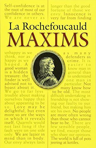 La Rochefoucauld: Maxims: Rochefoucauld, La/ Heard,