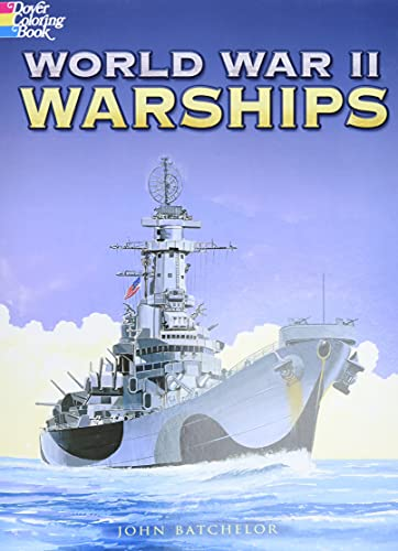 9780486451633: World War II Warships (Dover History Coloring Book)