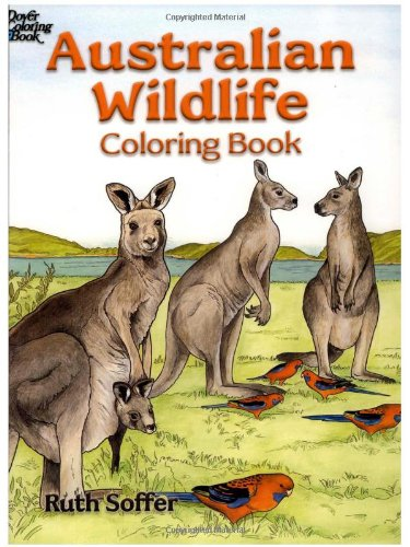 9780486451671: Australian Wildlife Coloring Book