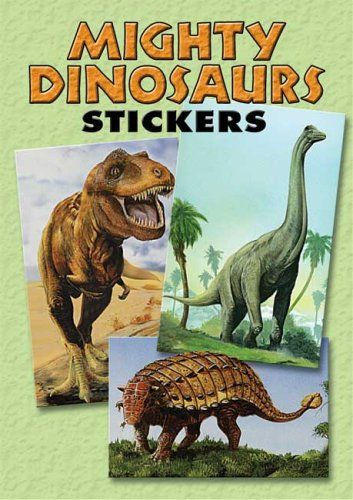 Mighty Dinosaurs Stickers: 36 Stickers, 9 Different: Jan Sovak