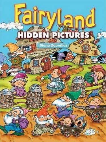 9780486451879: Fairyland Hidden Pictures (Dover Children's Activity Books)