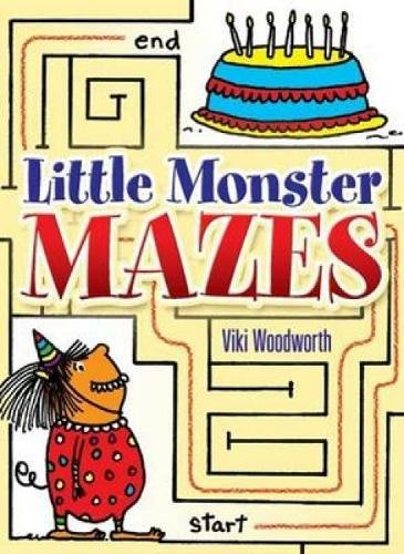 9780486451893: Little Monster Mazes (Dover Little Activity Books)