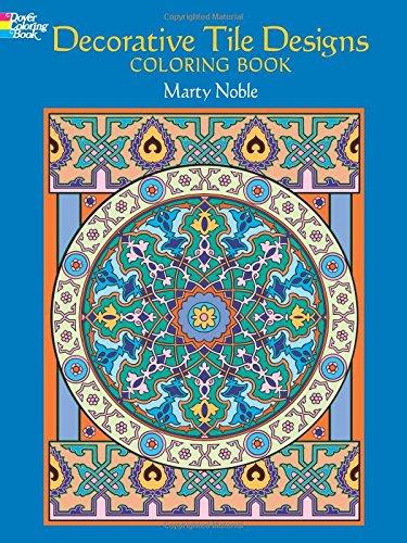 9780486451954: Dover Publications-Decorative Tile Designs Coloring Book (Dover Design Coloring Books)