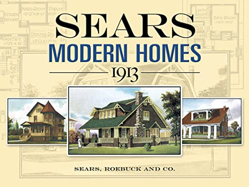 9780486452647 Sears Modern Homes 1913 Dover Architecture Abebooks Sears Roebuck And Co