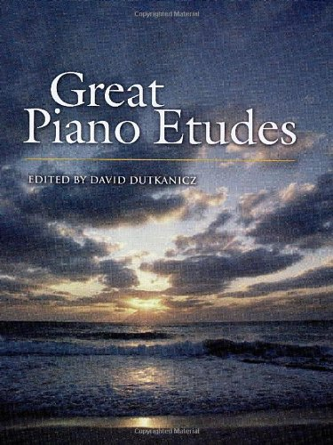 9780486452777: Great Piano Etudes: Masterpieces by Chopin, Scriabin, Debussy, Rachmaninoff And Others