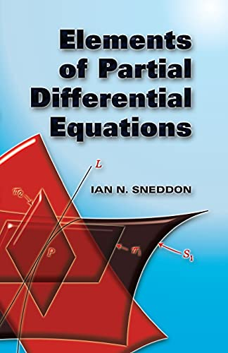 9780486452975: Elements of Partial Differential Equations (Dover Books on Mathematics)