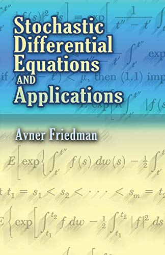 9780486453590: Stochastic Differential Equations and Applications (Dover Books on Mathematics)