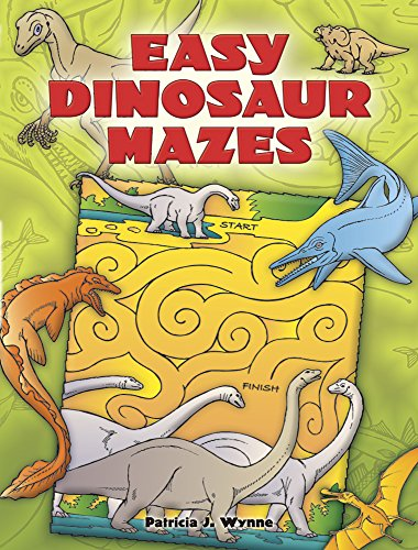 9780486453637: Easy Dinosaur Mazes (Dover Children's Activity Books)