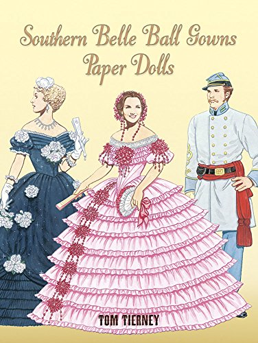 9780486453651: Southern Belle Ball Gowns Paper Dolls