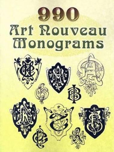 9780486454238: 990 Art Nouveau Monograms (Dover Pictorial Archive)