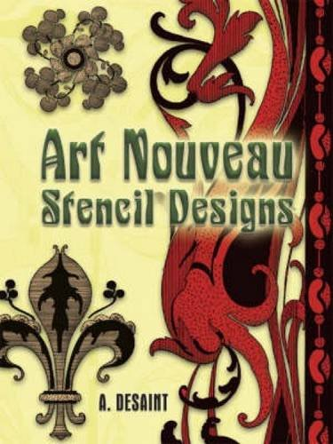 9780486454269: Art Nouveau Stencil Designs (Dover Pictorial Archive)