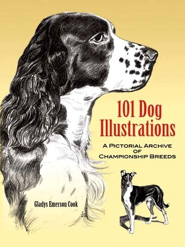 9780486454382: 101 Dog Illustrations: A Pictorial Archive of Championship Breeds (Dover Pictorial Archive)