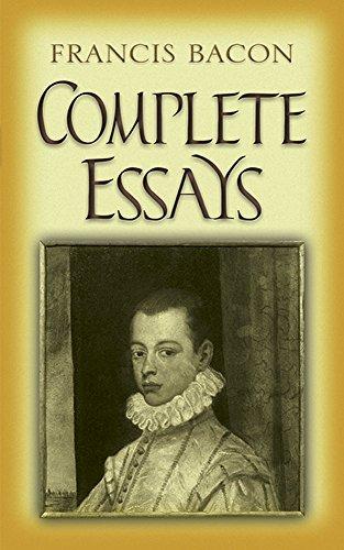 Complete Essays: Bacon, Francis/ Smeaton,