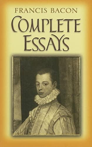 9780486454436: Complete Essays (Dover Books on Literature & Drama)