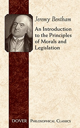 9780486454528: An Introduction to the Principles of Morals and Legislation (Dover Philosophical Classics)