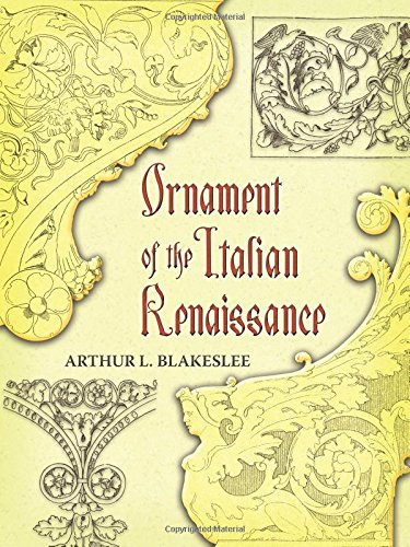 9780486454535: Ornament of the Italian Renaissance (Dover Pictorial Archive)
