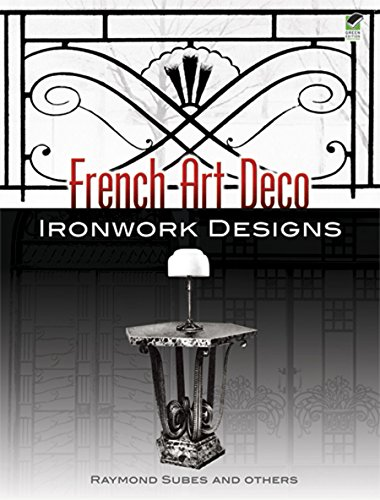 9780486454597: French Art Deco Ironwork Designs (Dover Jewelry and Metalwork)