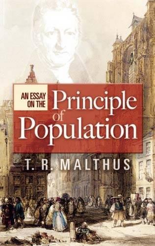 Essay principle population malthus