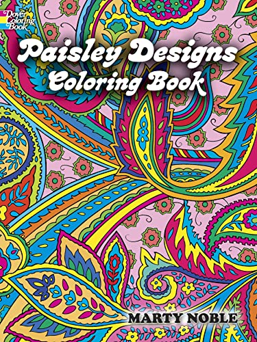 Paisley Designs Coloring Book by Marty Noble - AbeBooks