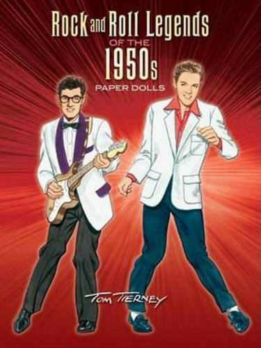 9780486456607: Rock and Roll Legends of the 1950s Paper Dolls (Dover Celebrity Paper Dolls)