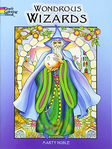 9780486456669: Wondrous Wizards (Dover Coloring Books)