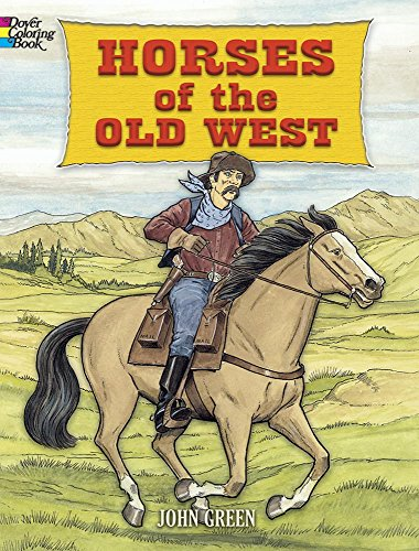9780486456751: Horses of the Old West (Dover Nature Coloring Book)