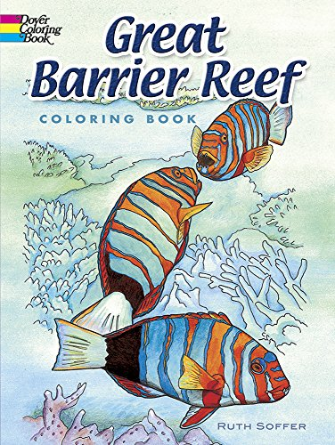 9780486456898: Great Barrier Reef Coloring Book