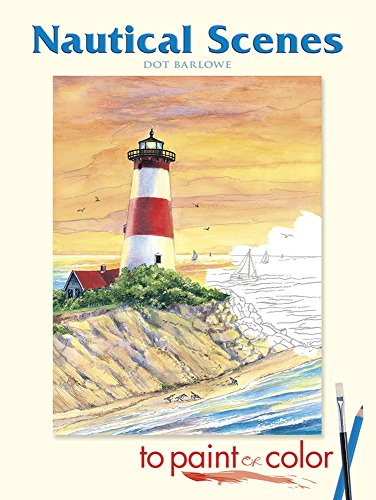 9780486456935: Nautical Scenes to Paint or Color