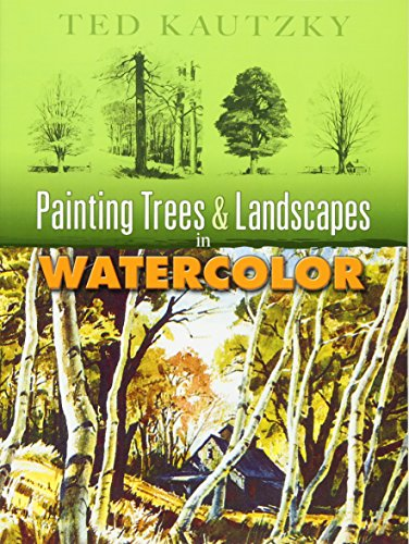 9780486456973: Painting Trees and Landscapes in Watercolor (Dover Art Instruction)