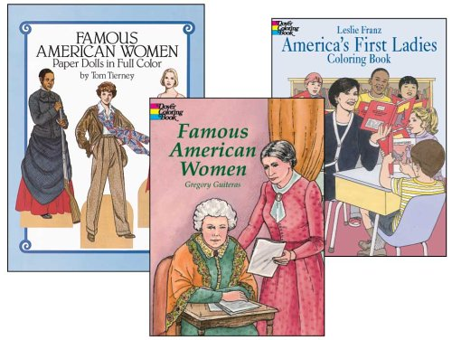 Famous American Women Activity Set (0486457036) by Dover