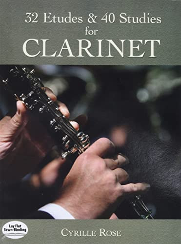9780486457307: 32 Etudes and 40 Studies for Clarinet (Dover Chamber Music Scores)