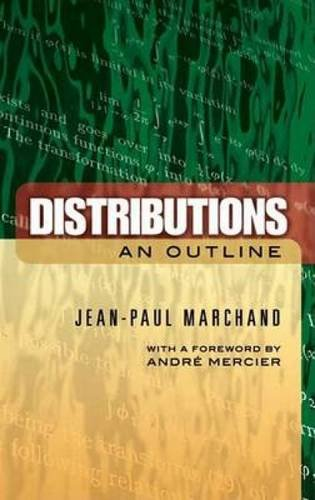 9780486457741: Distributions: An Outline (Dover Books on Mathematics)