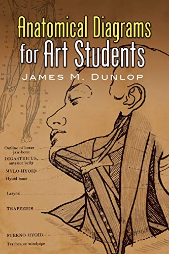 9780486457758: Anatomical Diagrams for Art Students (Dover Art Instruction)