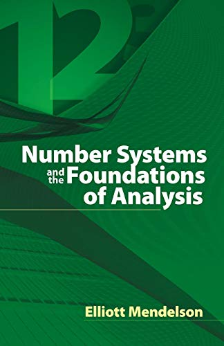 9780486457925: Number Systems and the Foundations of Analysis (Dover Books on Mathematics)