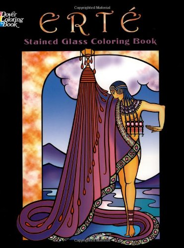9780486457949: Erte Stained Glass Coloring Book (Dover Stained Glass Coloring Book)
