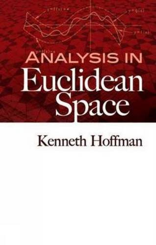 9780486458045: Analysis in Euclidean Space (Dover Books on Mathematics)