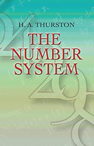 9780486458069: The Number System (Dover Books on Mathematics)