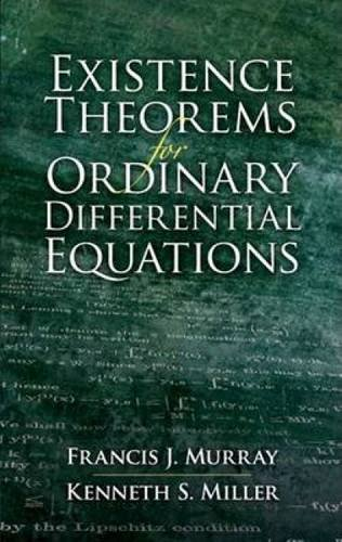 9780486458106: Existence Theorems for Ordinary Differential Equations (Dover Books on Mathematics)