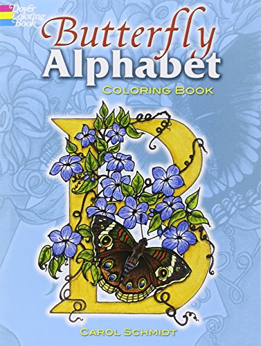 9780486458434: Butterfly Alphabet Coloring Book (Dover Coloring Books)