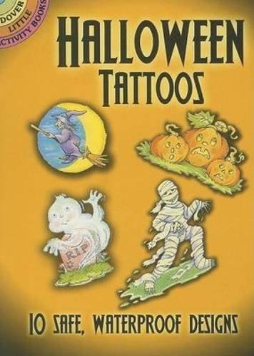9780486458496: Halloween Tattoos (Dover Tattoos)