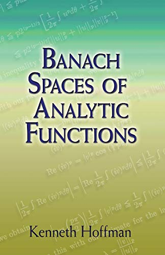 9780486458748: Banach Spaces of Analytic Functions (Dover Books on Mathematics)