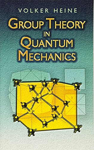 9780486458786: Group Theory in Quantum Mechanics: An Introduction to Its Present Usage