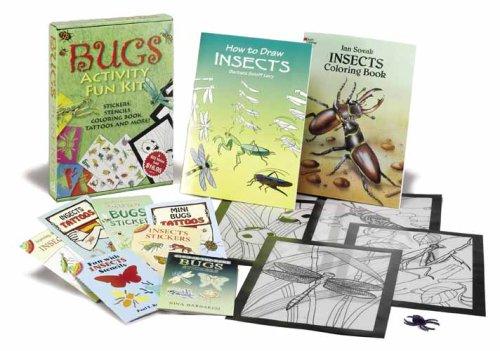 9780486459028: Bugs Activity Fun Kit (Dover Fun Kits)