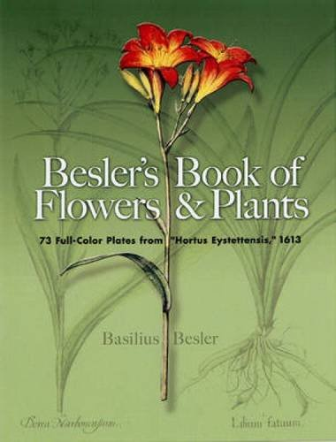 9780486460055: Besler's Book of Flowers and Plants: 73 Full-Color Plates from Hortus Eystettensis, 1613 (Dover Pictorial Archive)