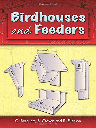 9780486460468: Birdhouses and Feeders (Dover Woodworking)