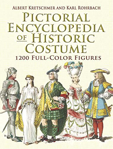 9780486461427: Pictorial Encyclopedia of Historic Costume: 1200 Full-Color Figures (Dover Fashion and Costumes)