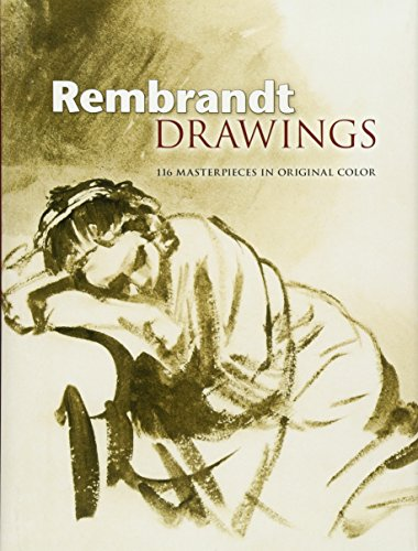 9780486461496: Rembrandt Drawings: 116 Masterpieces in Original Color (Dover Fine Art, History of Art)