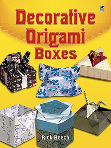 9780486461731: Decorative Origami Boxes (Dover Origami Papercraft)